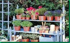 Una estanter a para macetas fundaci n ilersis - Estanterias de jardin ...