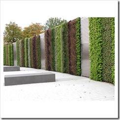 Decorar las paredes del jard n jardindecora flores y plantas for Decoracion paredes jardin