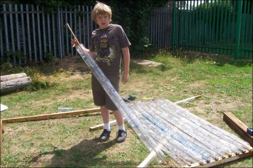 Construir un invernadero con botellas de pl stico for Como realizar un vivero