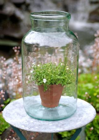 Jarrones y botellas de vidrio vintage fundaci ilersis for Jarrones de vidrio decorados