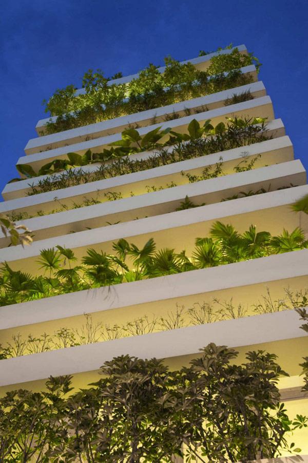 Fachada y jard n fundaci ilersis for Jardin urbain green bar