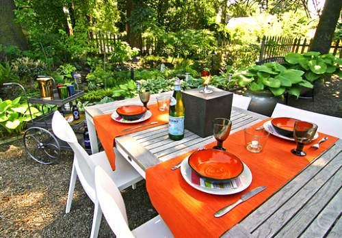 Decorar la mesa del jard n en verano fundaci ilersis - Decorar mesas de jardin ...