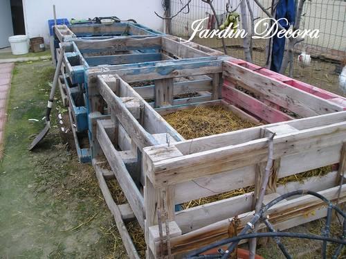 El compost en el huerto casero fundaci ilersis - Como hacer un jacuzzi ...