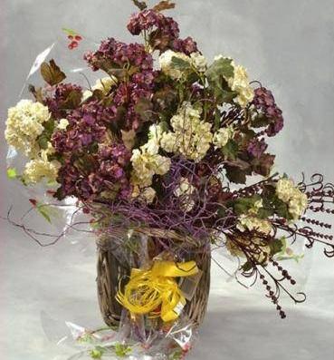 Como hacer tus propias flores secas jardindecora flores - Adornos flores secas ...