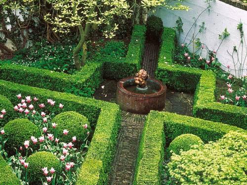 Las l neas rectas en el dise o de jardines fundaci ilersis - Diseno de paisajes y jardines ...