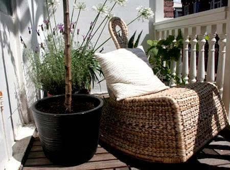 Rattan para los muebles de terraza jardindecora flores y for Muebles de rattan