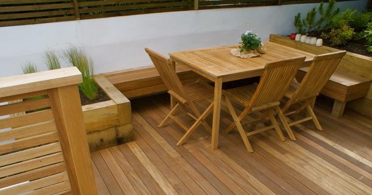Muebles para exterior en madera fundaci ilersis - Muebles exterior madera ...