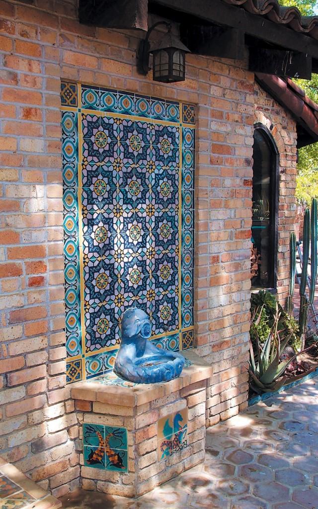 Fuentes piedra artificial para jardin pared - Fuentes de pared de piedra ...