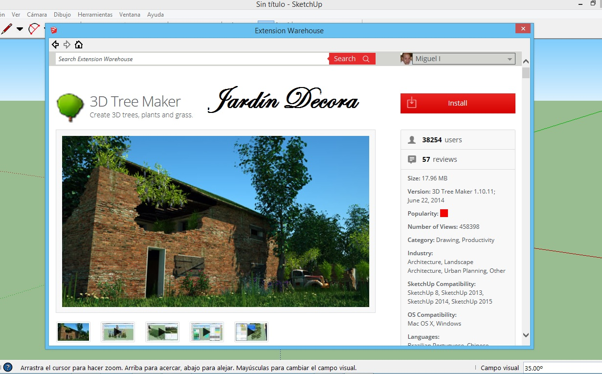Dise ar un jard n jardindecora flores y plantas for Disenar jardines online gratis