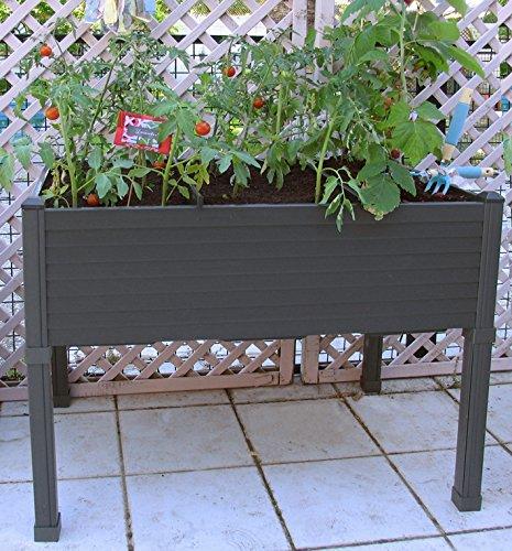 Mesa de cultivo para el huerto urbano fundaci ilersis for Mesas de patio baratas