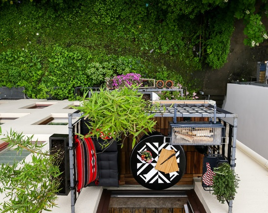 Decorar una terraza peque a fundaci ilersis - Como decorar una terraza pequena ...