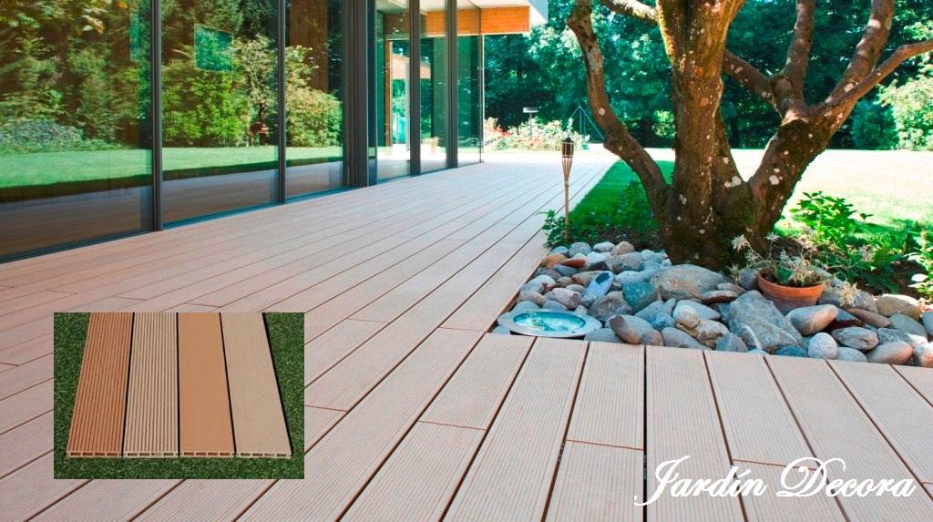 Tarimas sint ticas para exterior sin mantenimiento for Tarimas de madera para jardin