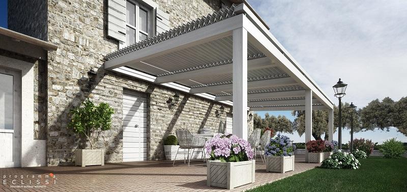 P rgolas de aluminio bioclim ticas fundaci ilersis - Pergolas de aluminio para jardin ...