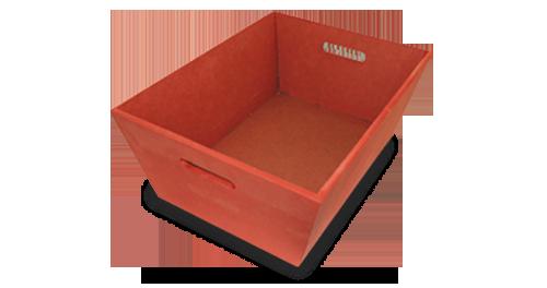 Cubetas de madera - Productos ILERSIS