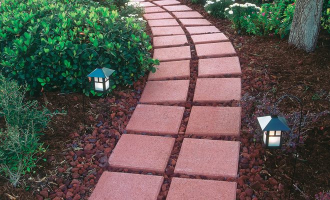 Decorar la terraza con minerales fundaci ilersis for Red rock for flower beds