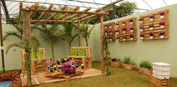 Hacer nuestros muebles de jard n diy fundaci ilersis - Decorar jardin barato ...