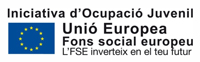 Unió Europea. Fons social europeu. Iniciativa d'Ocupació Juvenil