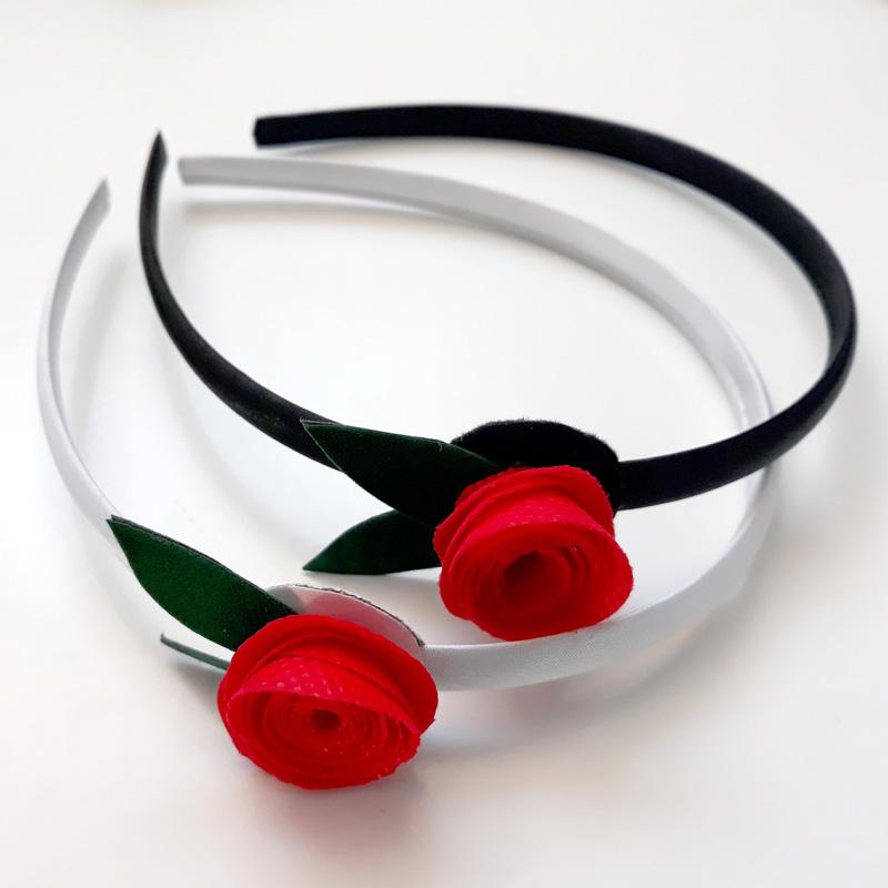 Diadema amb rosa de Sant Jordi 2018, Fundació Privada Ilersis