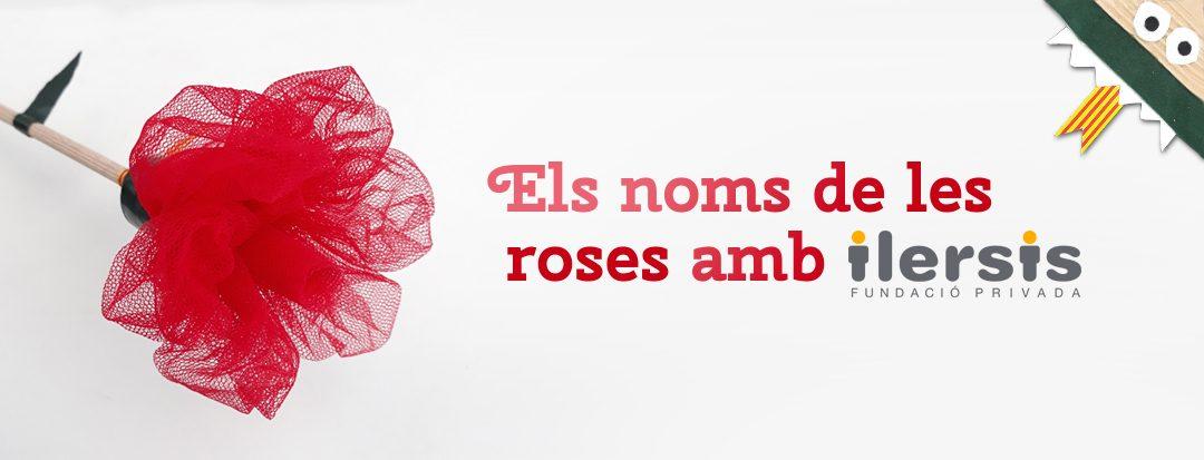 Els noms de les roses amb ilersis – Sant Jordi 2018