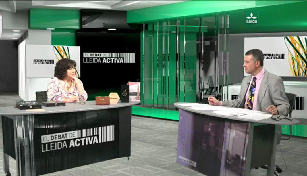 ILERSIS Fundació ha estat al Programa 'El debat de Lleida Activa', de Lleida TV
