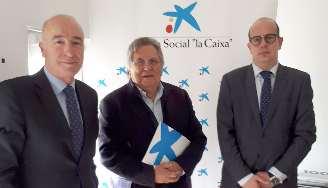 CaixaBank ofrece ayuda al centro de trabajo de ILERSIS Fundación