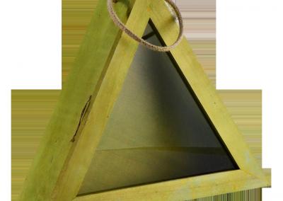 Caja triangular - Cajas de madera ILERSIS