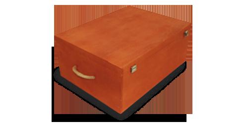Cofres de madera - Productos ILERSIS