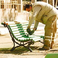 CEE Mantenimiento mobiliario urbano