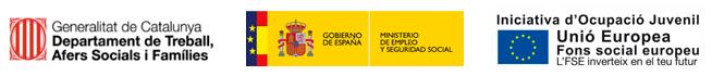 Generalitat de Catalunya. Gobierno de España. Unió Europea.