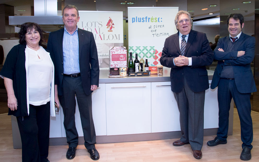 La Fundación ILERSIS se suma este año a la campaña de Navidad de Plusfresc