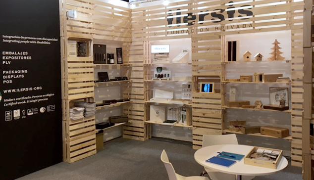 La Fundación Privada ILERSIS lleva sus cajas adaptables a la Feria Packaging Innovations 2017 de Madrid