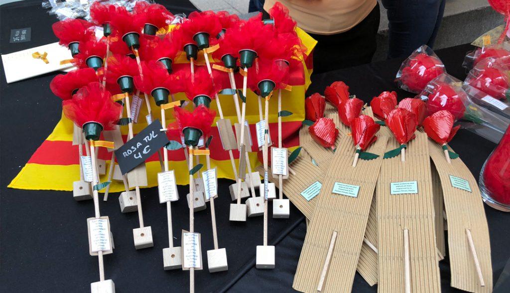 Les roses de Sant Jordi d'ILERSIS Fundació, tot un èxit