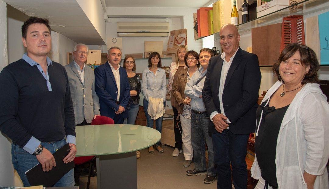 Una delegació d'empresaris de la COELL visiten les instal·lacions d'ILERSIS