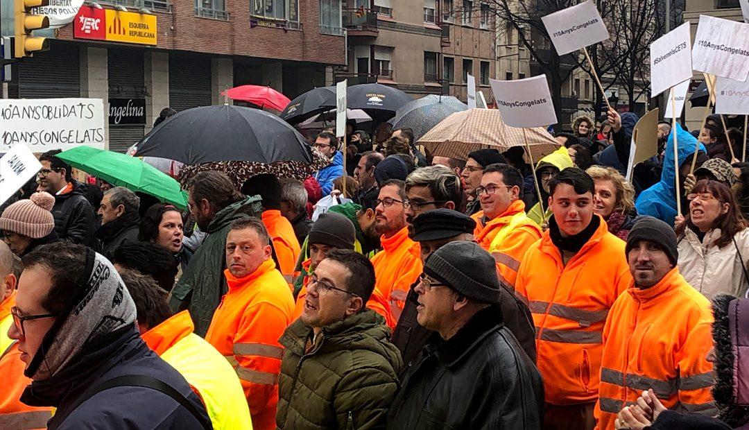 Ilersis Fundació se suma a la protesta multitudinària del col·lectiu de persones amb discapacitat a Lleida