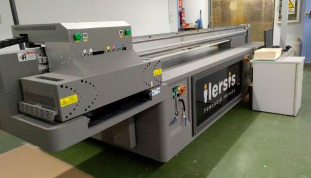 ILERSIS Fundació estrena noves màquines digital i làser