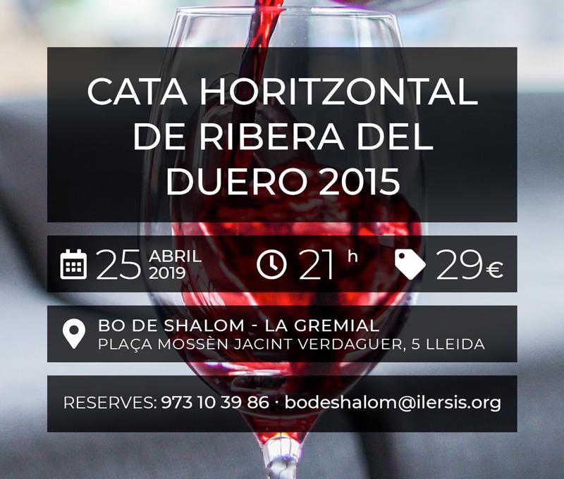 Cata Horitzontal de Ribera del Duero 2015