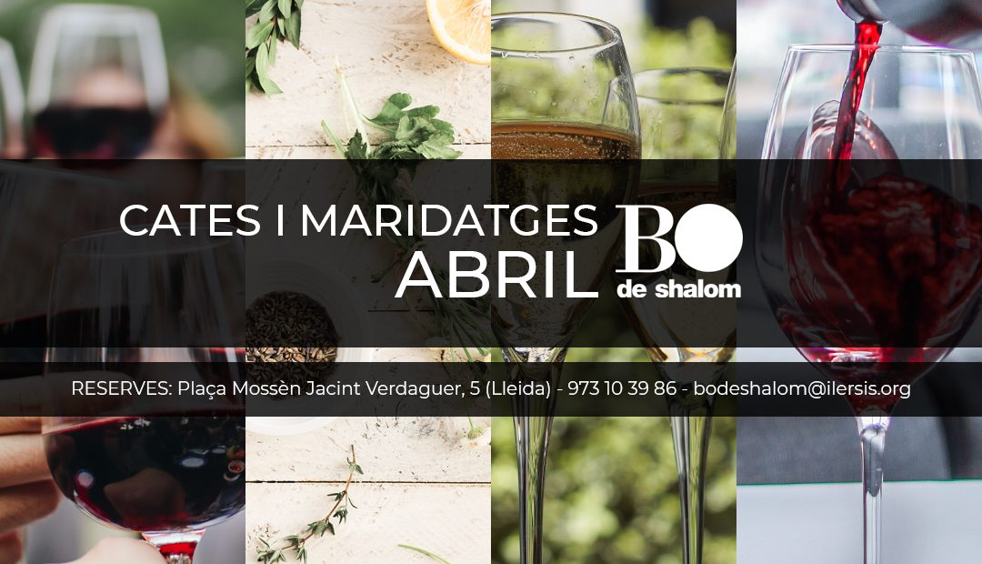Cates i maridatges de BO de Shalom – Abril 2019