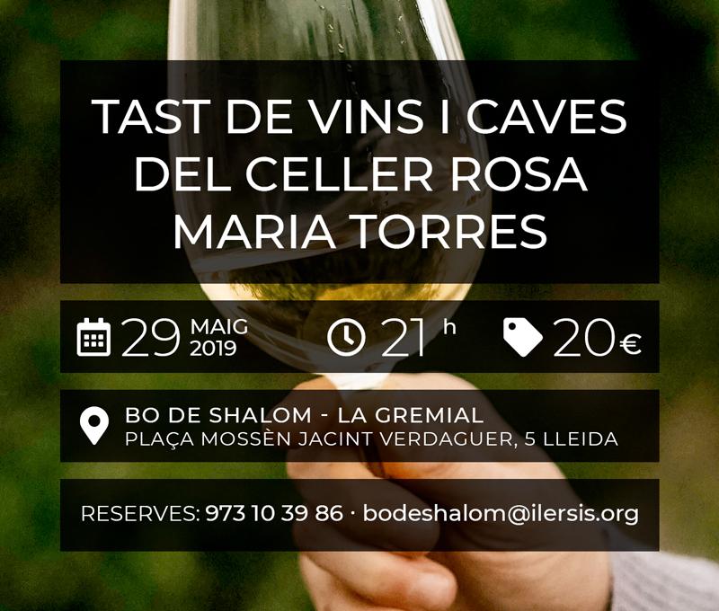 Tast de Vins i caves del Celler Rosa Maria Torres