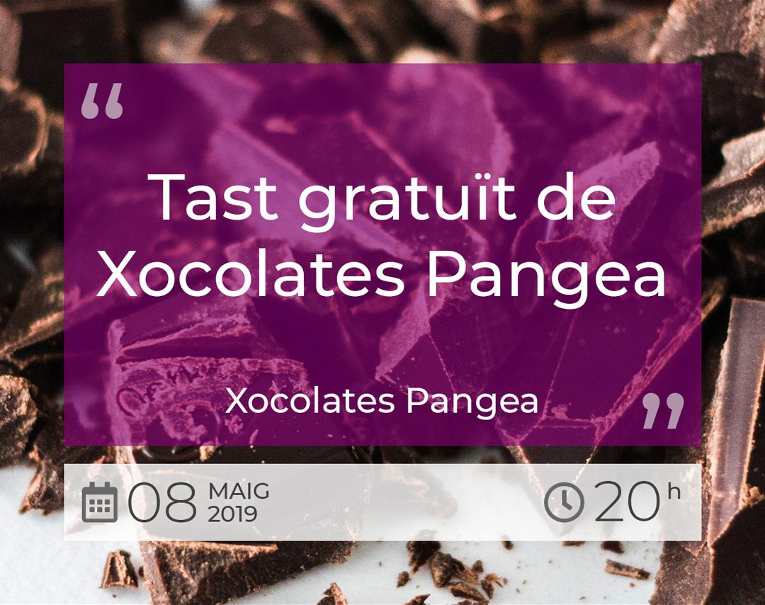 Tast gratuït de Xocolates Pangea - 8 Maig 2019 - BO de shalom