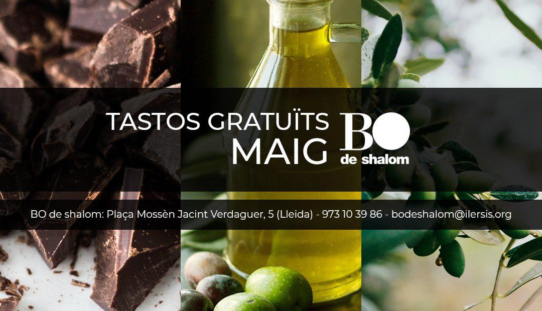 Tastos gratuïts i guiats de BO de Shalom – Maig 2019