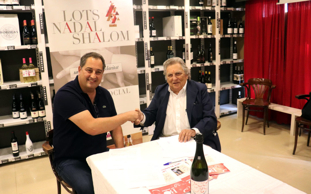 Convenio de colaboración entre Ilersis y Colet Viticultors para comercializar el vino espumoso solidario 'Som Somriures'