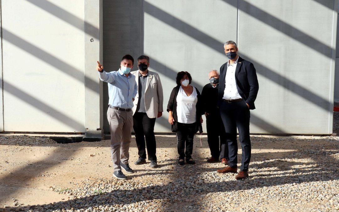 El delegado del Govern de la Generalitat en Lleida Bernat Solé visita las instalaciones de la Fundació Ilersis
